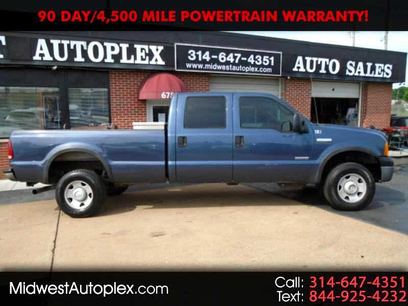 Ford F-350 SD XL Crew Cab Long Bed 4WD 2005