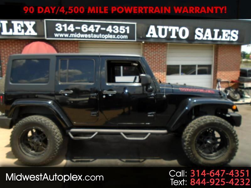 Jeep Wrangler 4WD 4dr Unlimited Sahara 2012