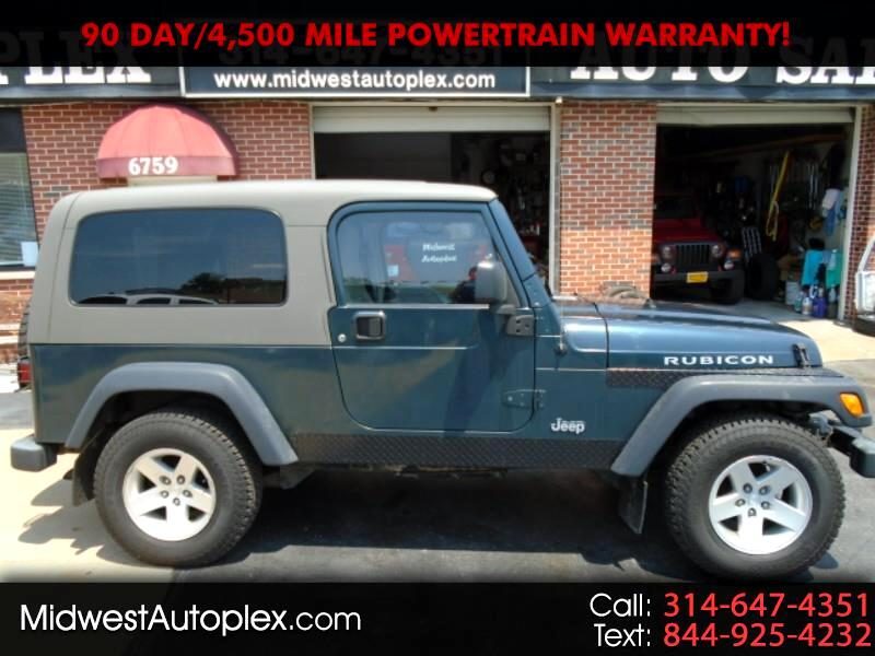 Jeep Wrangler 2dr Unlimited Rubicon LWB 2005