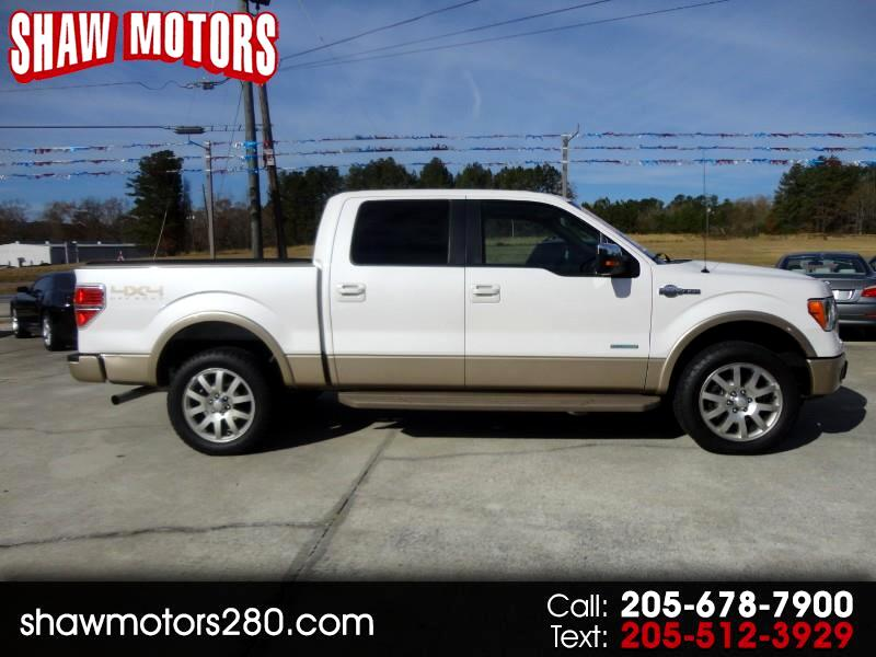 2011 Ford F-150 King Ranch SuperCrew 6.5-ft. 4WD