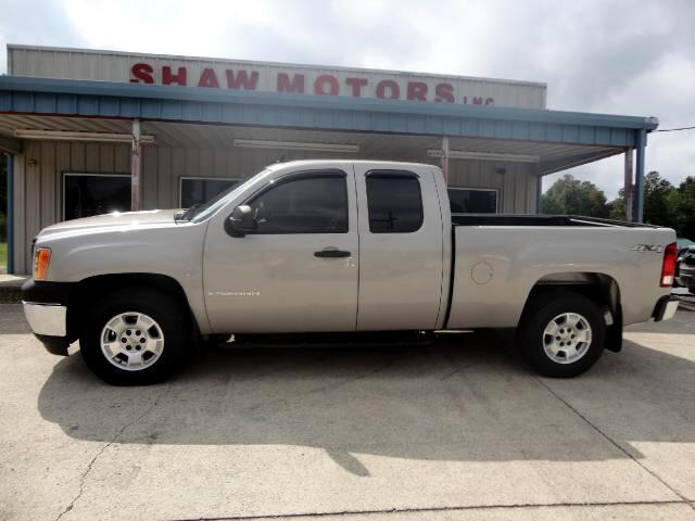 2008 GMC Sierra 1500 Work Truck Ext. Cab Long Box 4WD