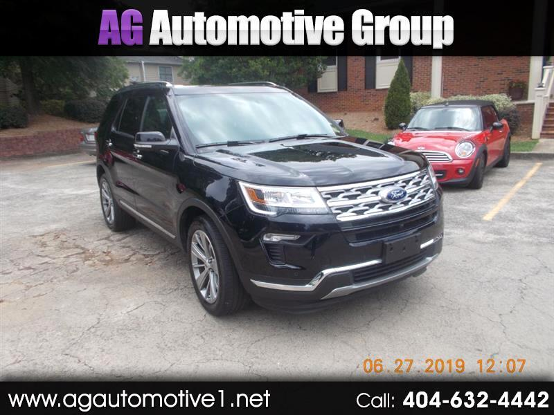 Ford Explorer Limited 4WD 2018