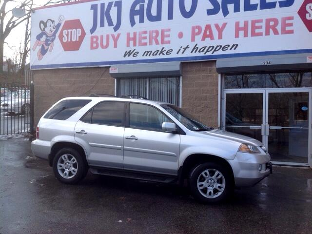Acura MDX Touring with Navigation System and Rear DVD System 2005