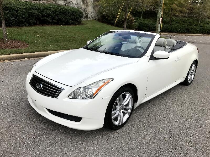 2009 Infiniti G37 Convertible 2dr Base