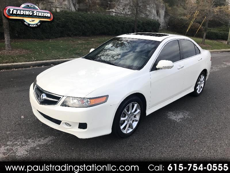 2007 Acura TSX 4dr Sdn AT