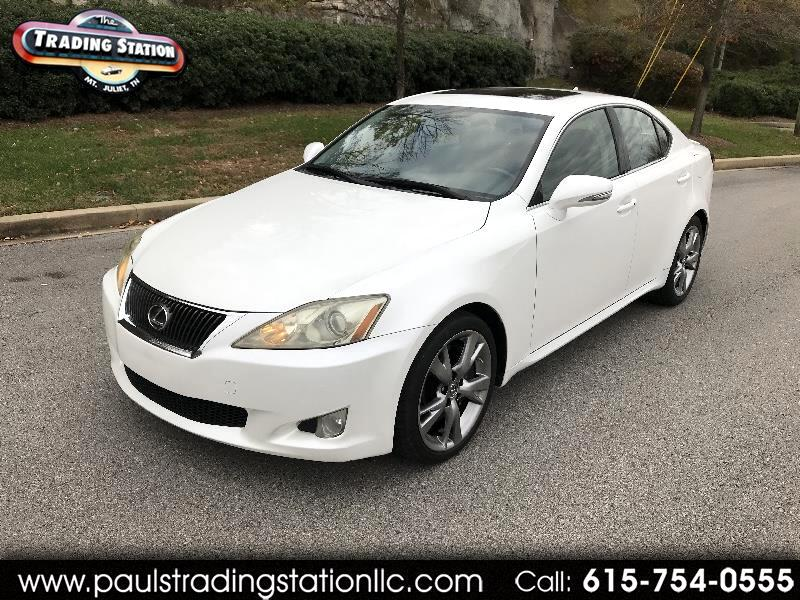 2009 Lexus IS 350 4dr Sport Sdn Auto