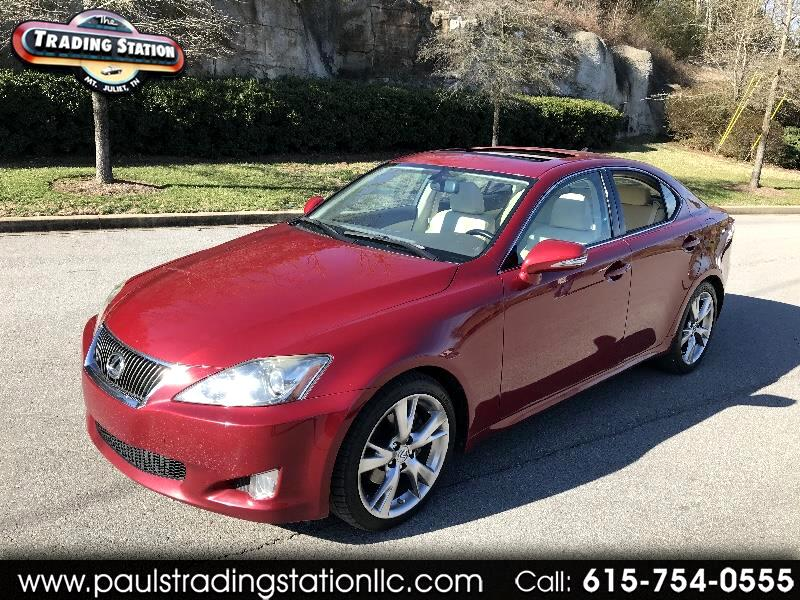 Lexus IS 250 4dr Sport Sdn Man RWD 2009