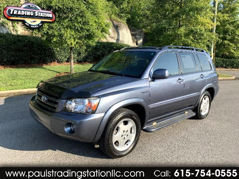 Toyota Highlander Limited V6 4WD 2006