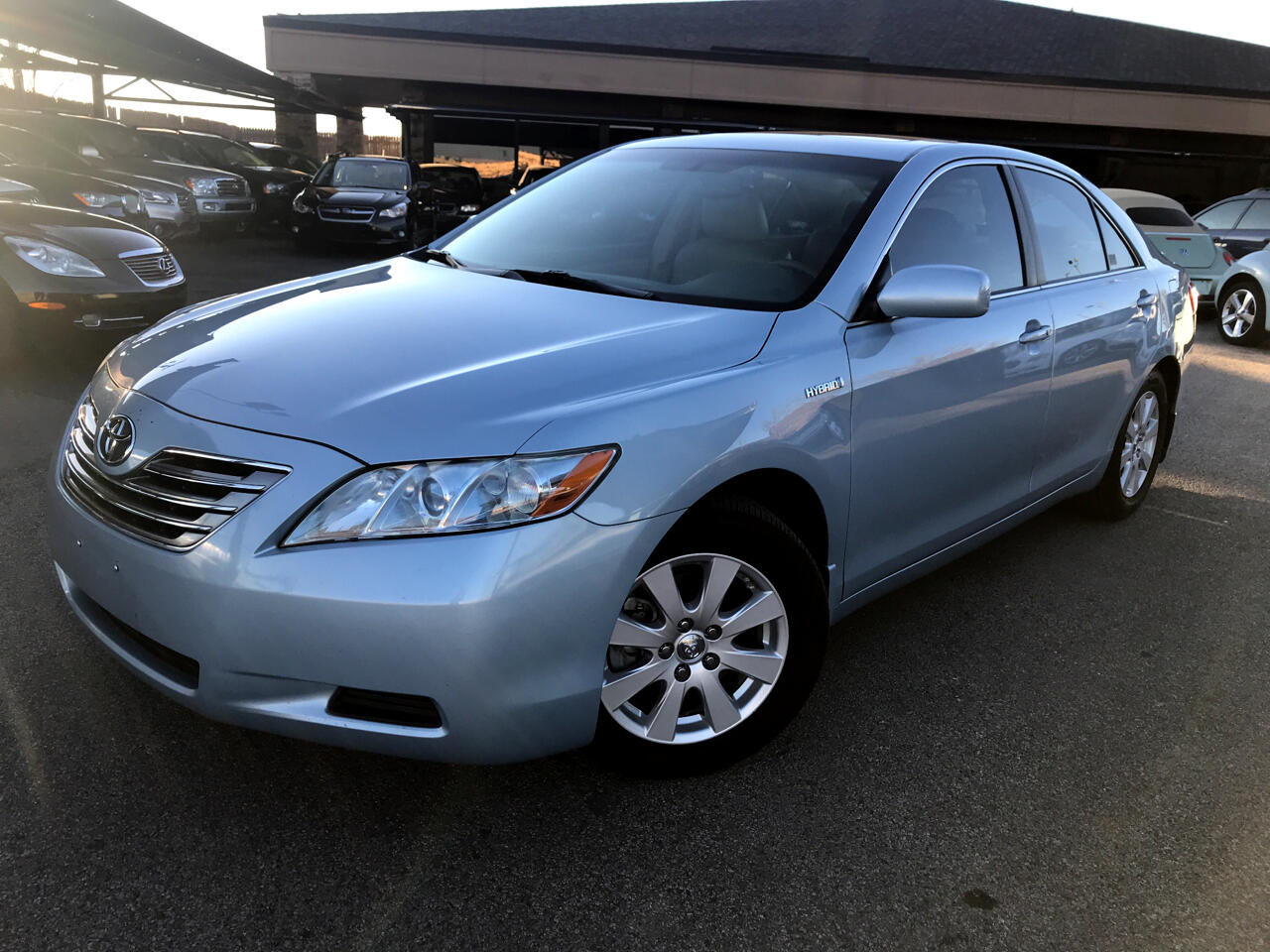 used 2009 toyota camry hybrid 4dr sdn natl for sale in oklahoma city ok 73114 thoroughbred motors. Black Bedroom Furniture Sets. Home Design Ideas