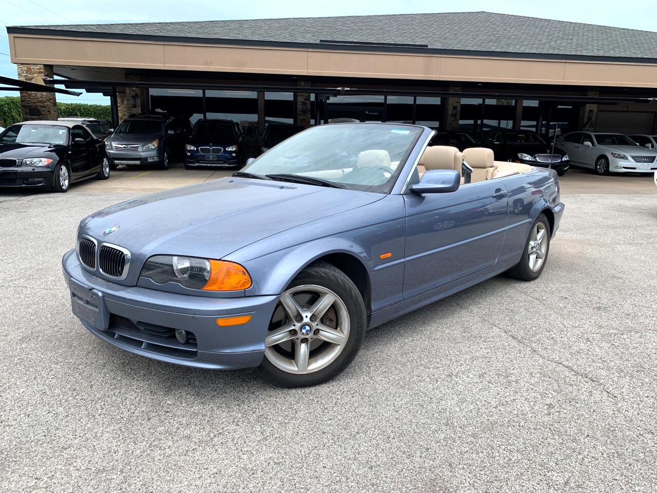 2002 BMW 3 Series 325Ci 2dr Convertible