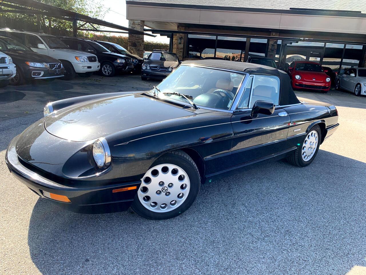 Alfa Romeo Spider 2dr Convertible Veloce 1993