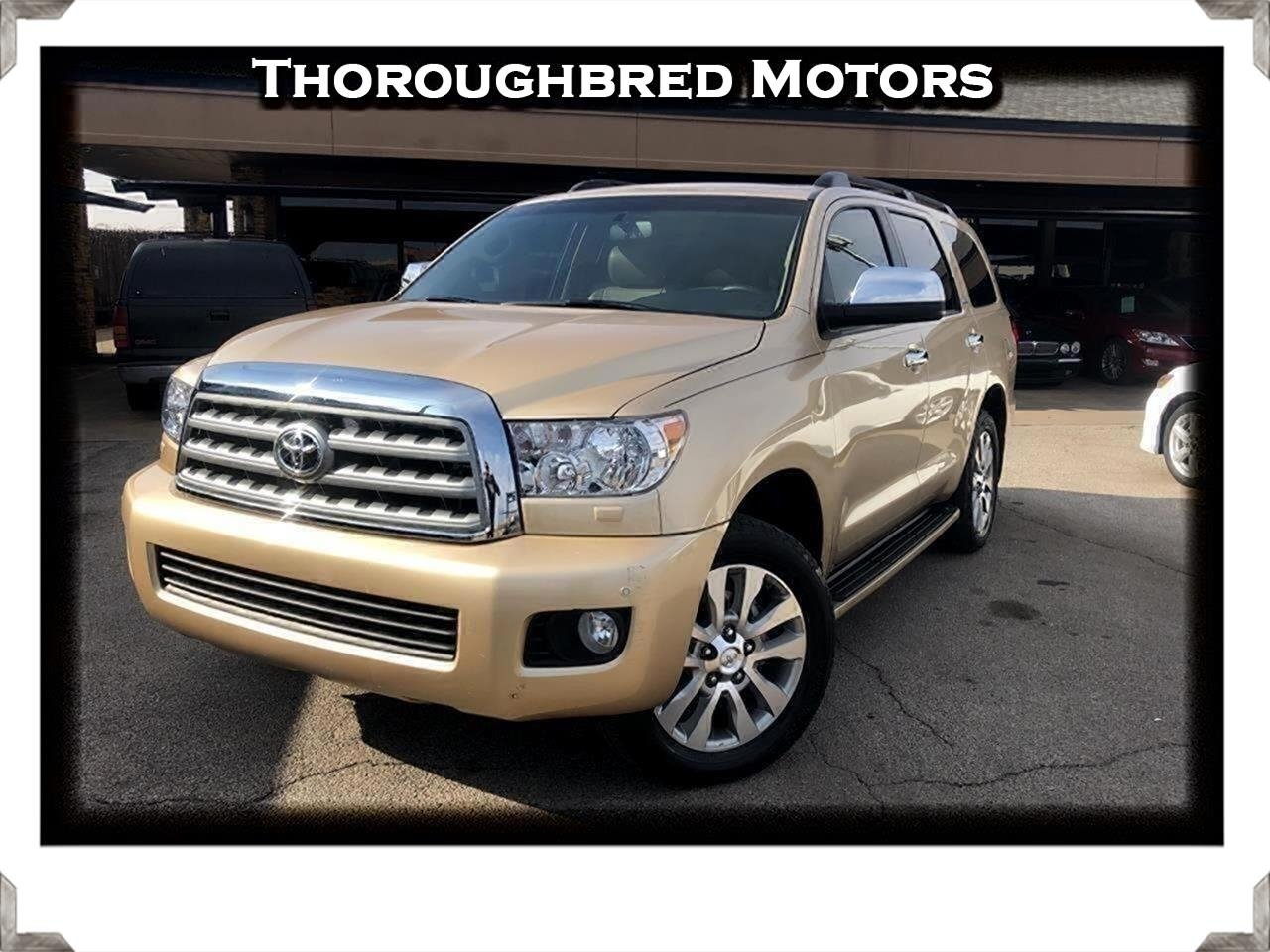 Toyota Sequoia Limited 4WD FFV 2012