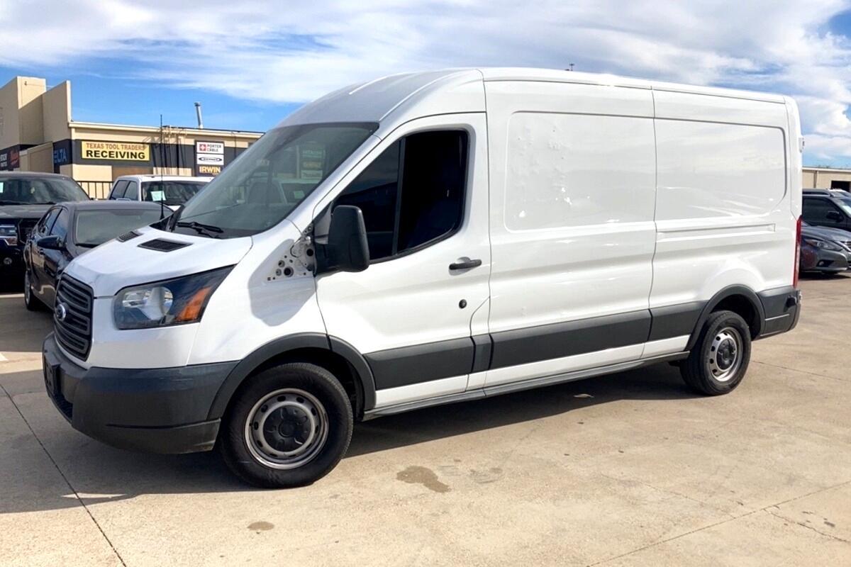 "2015 Ford Transit Cargo Van T-250 148"" Med Rf 9000 GVWR Sliding RH Dr"