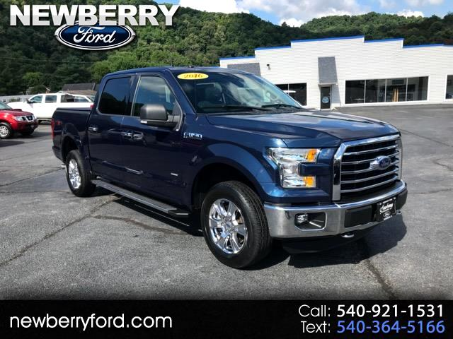 2016 Ford F-150 XLT 4WD SuperCrew 5.5' Box