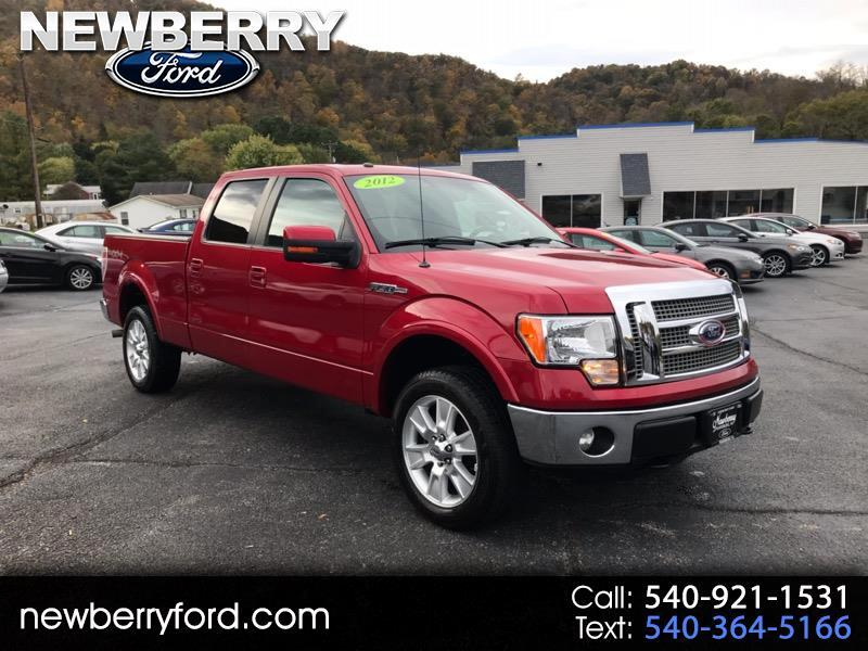 2012 Ford F-150 Lariat SuperCrew 6.5-ft Box 4WD