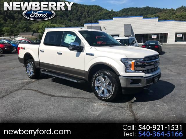 2018 Ford F-150 Lariat SuperCab Short Bed 4WD