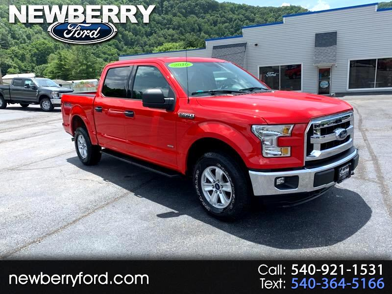 2016 Ford F-150 XLT SuperCab 5.5-ft Box 4WD
