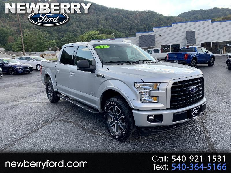 2017 Ford F-150 XLT SuperCab 5.5-ft Box 4WD