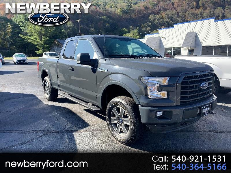 2016 Ford F-150 XLT SuperCab 5.5-ft. Bed 4WD
