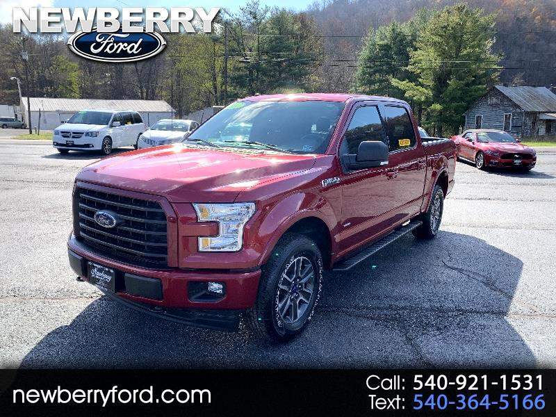 2017 Ford F-150 4WD SuperCrew 150