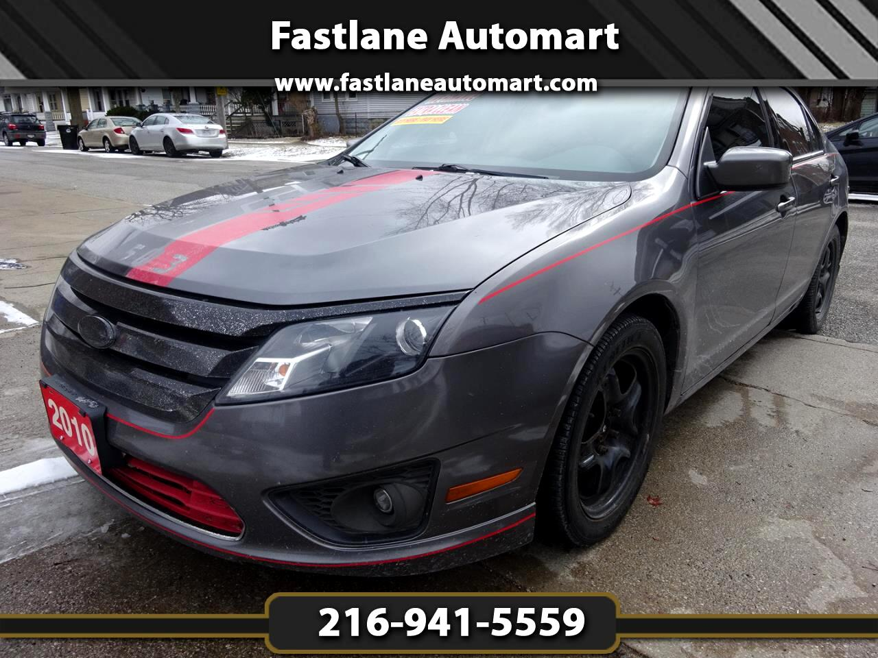 Ford Fusion 4dr Sdn V6 SE FWD 2009