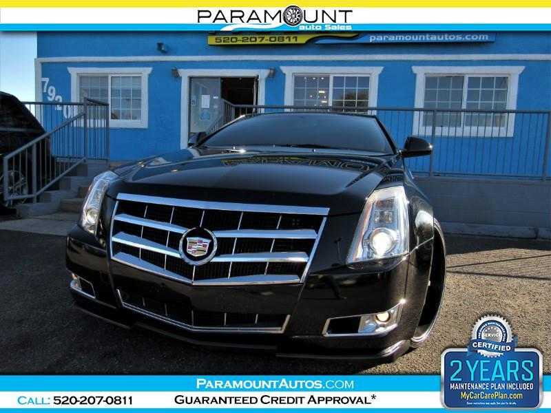 2011 Cadillac CTS Performance Coupe w/ Navigation