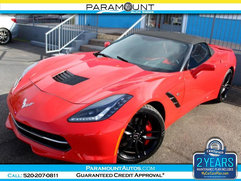 2014 Chevrolet Corvette Stingray Z51 3LT Convertible