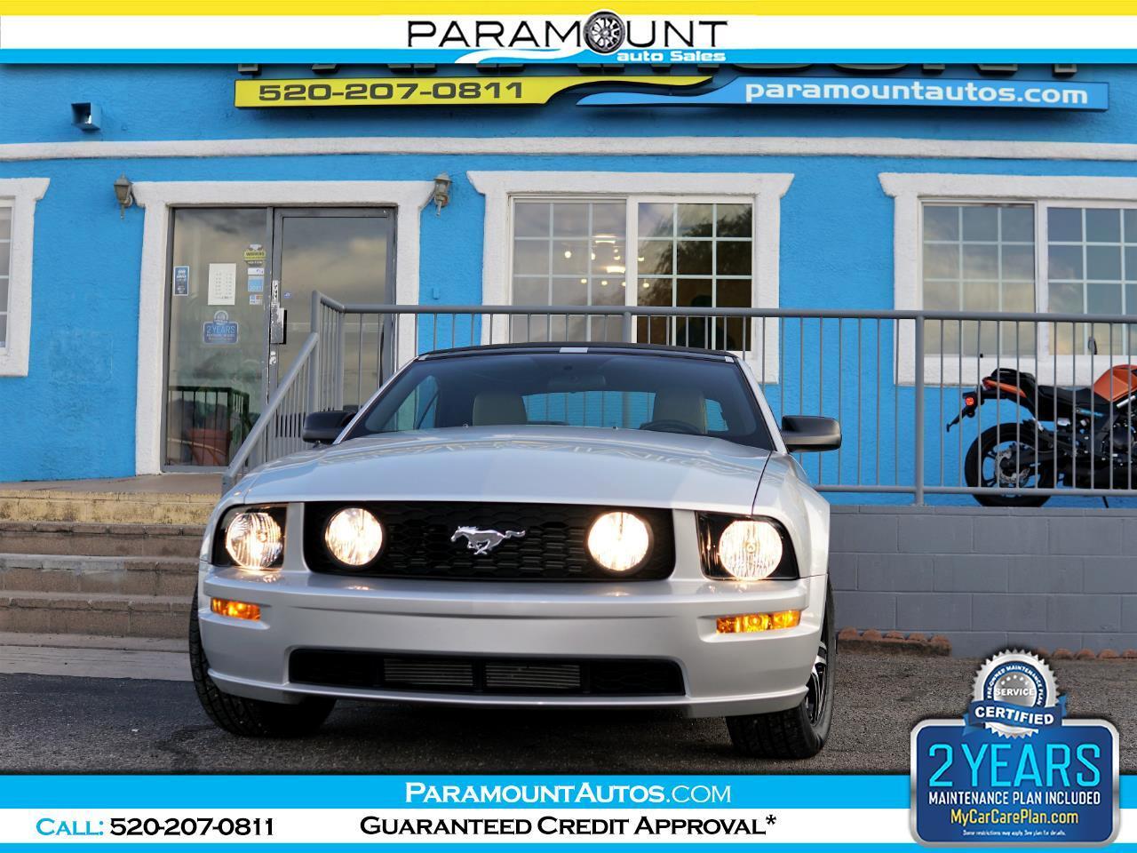 Ford Mustang GT Premium Convertible 2007