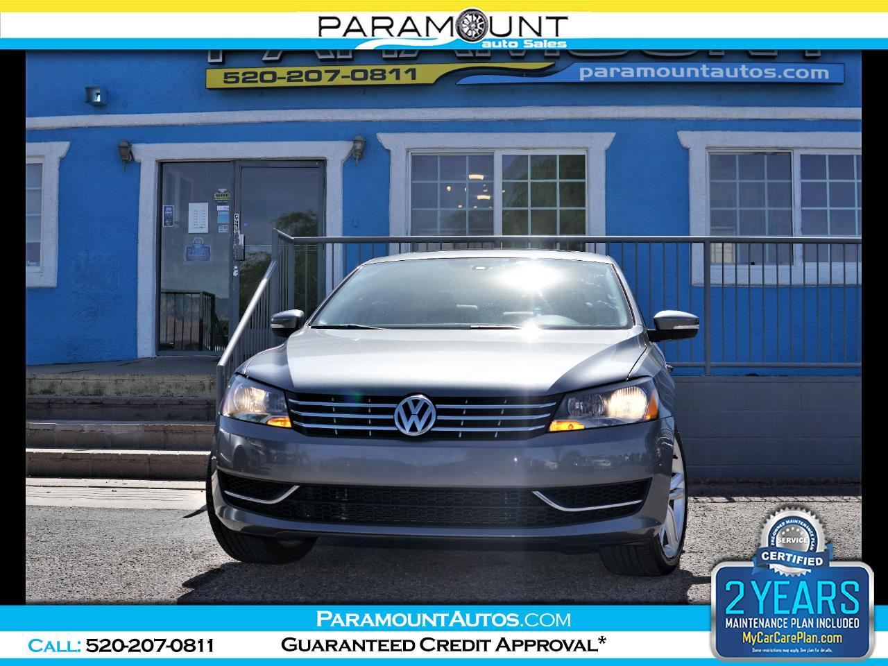 Volkswagen Passat 4dr Sdn 2.0L DSG TDI SE w/Sunroof 2014
