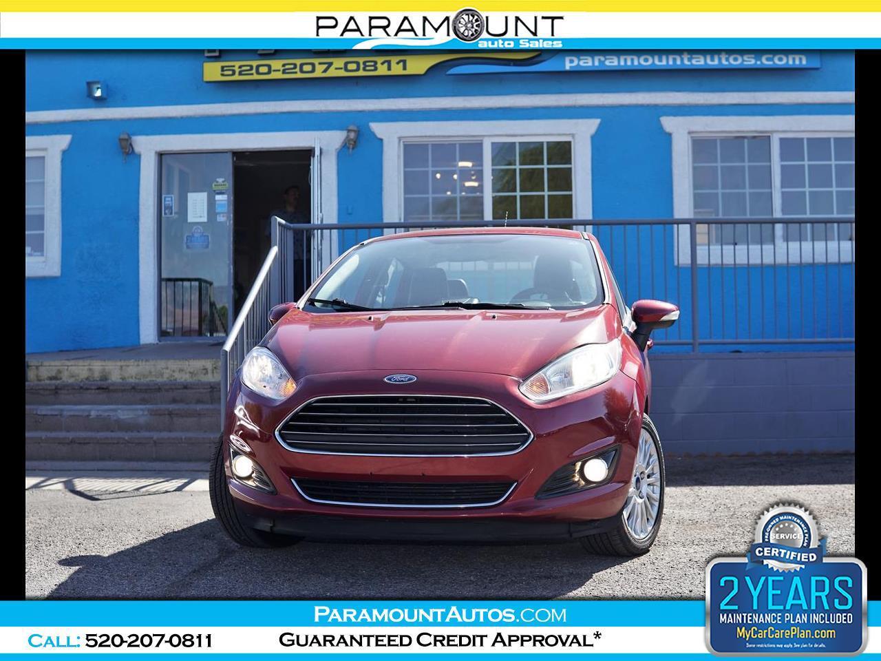 Ford Fiesta 4dr Sdn Titanium 2016