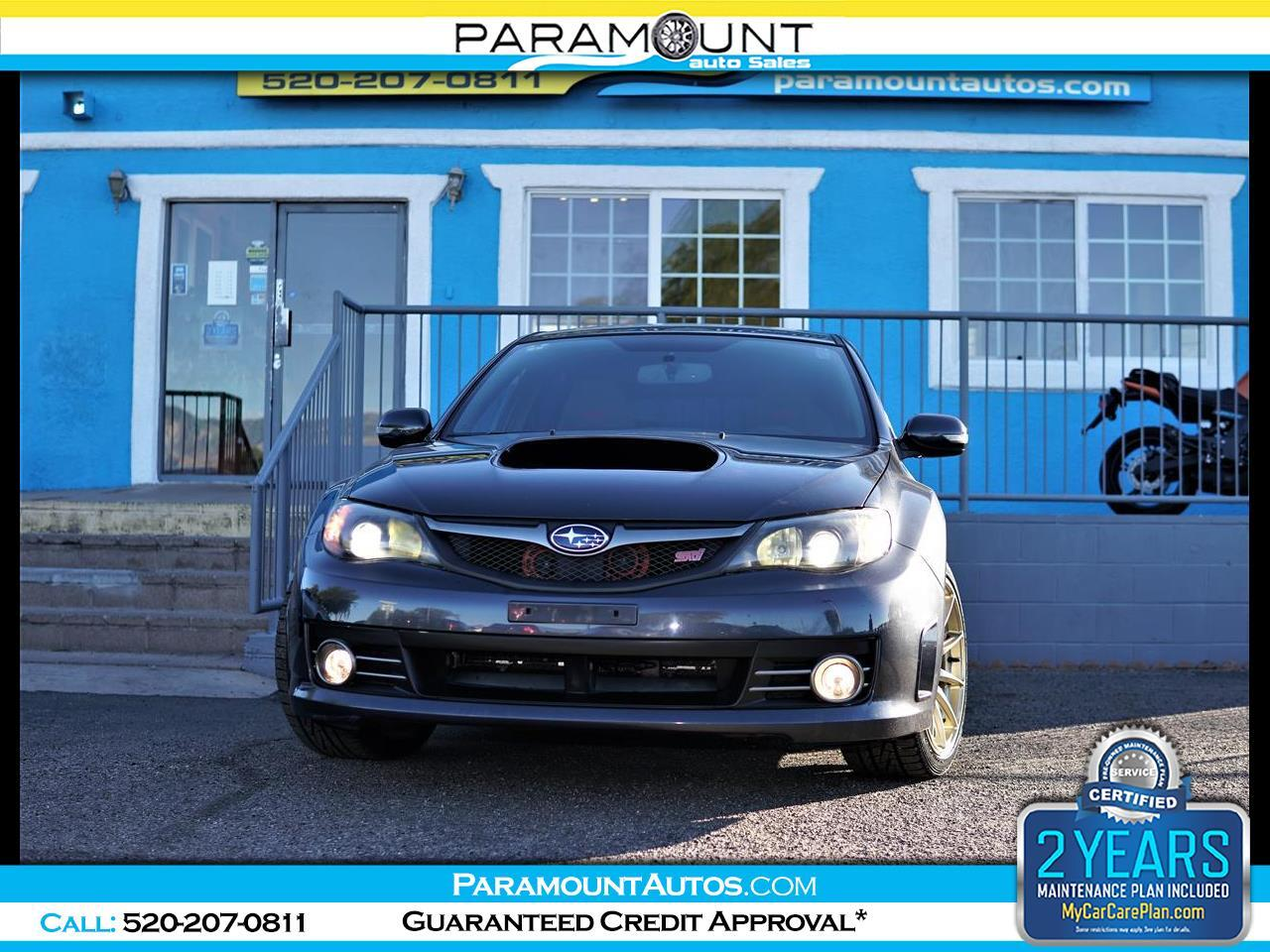Subaru Impreza 5dr Man STI w/Slvr Wheels/Nav 2008