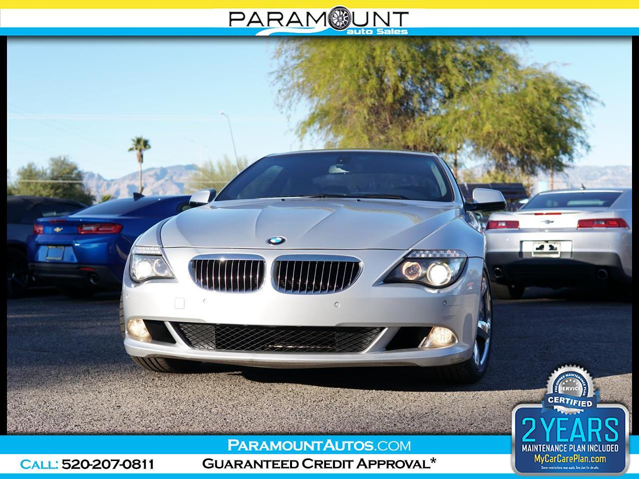 BMW 6-Series 2dr Cpe 650i 2010