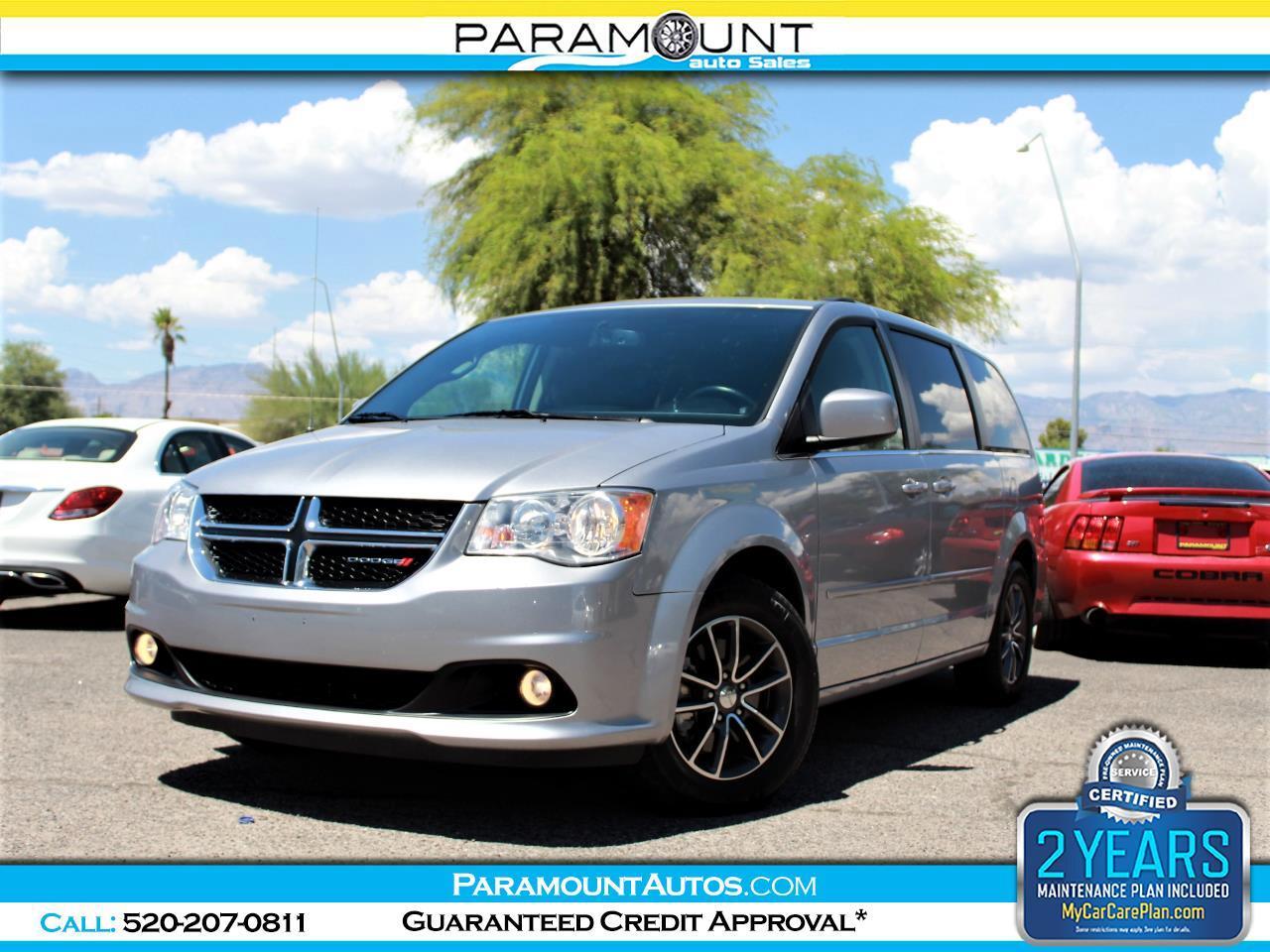 Used 2017 Dodge Grand Caravan Sxt For Sale In Tucson Az 85705 Paramount Auto Sales