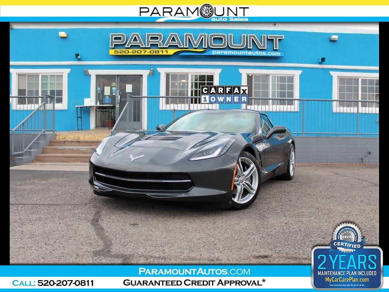 Chevrolet Corvette 1LT Coupe Automatic 2017