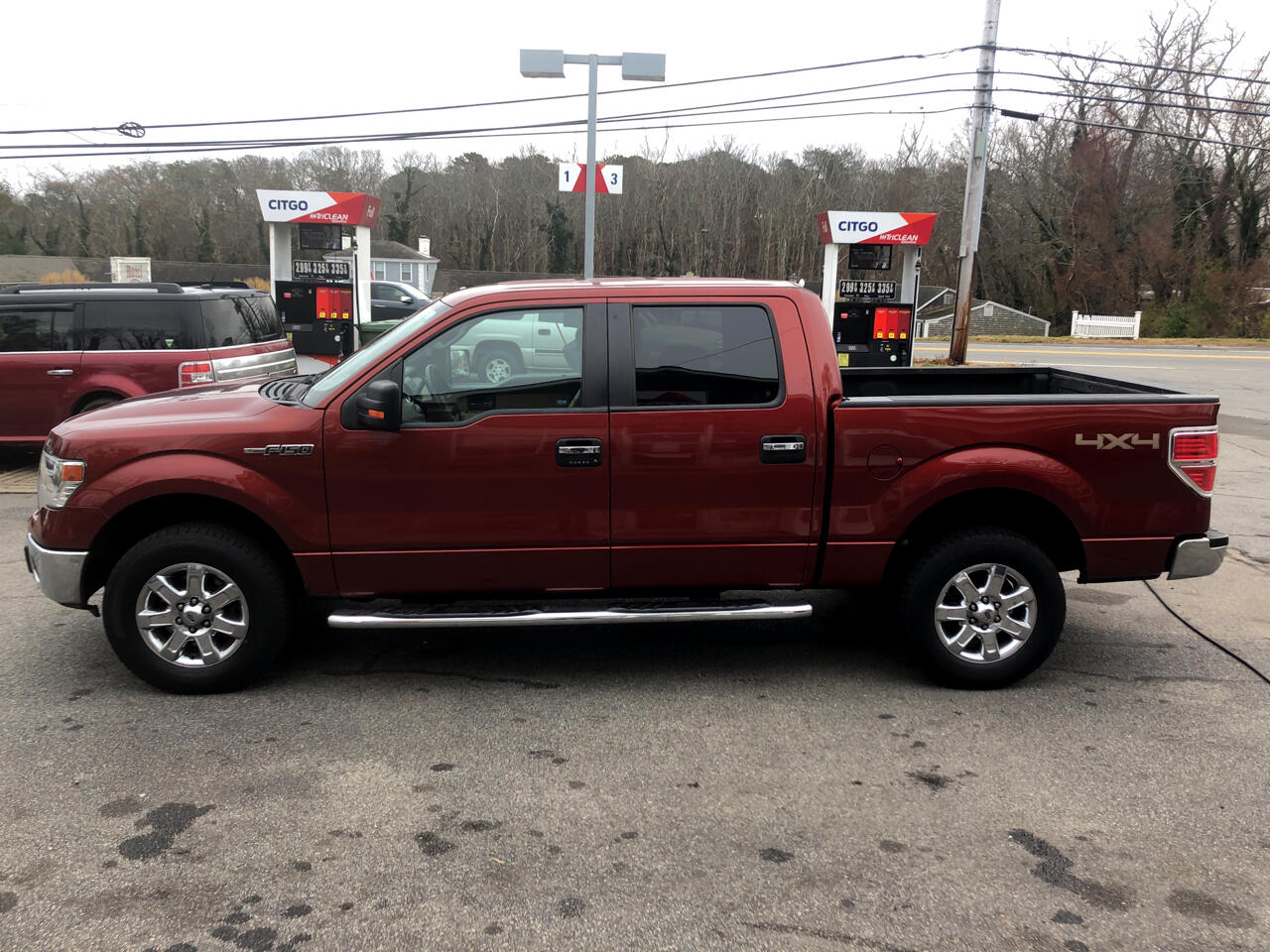 "2014 Ford F-150 4WD SuperCab 133"" FX4"