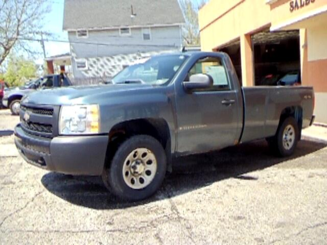 2007 Chevrolet Silverado Classic 1500 Work Truck Long Box 4WD