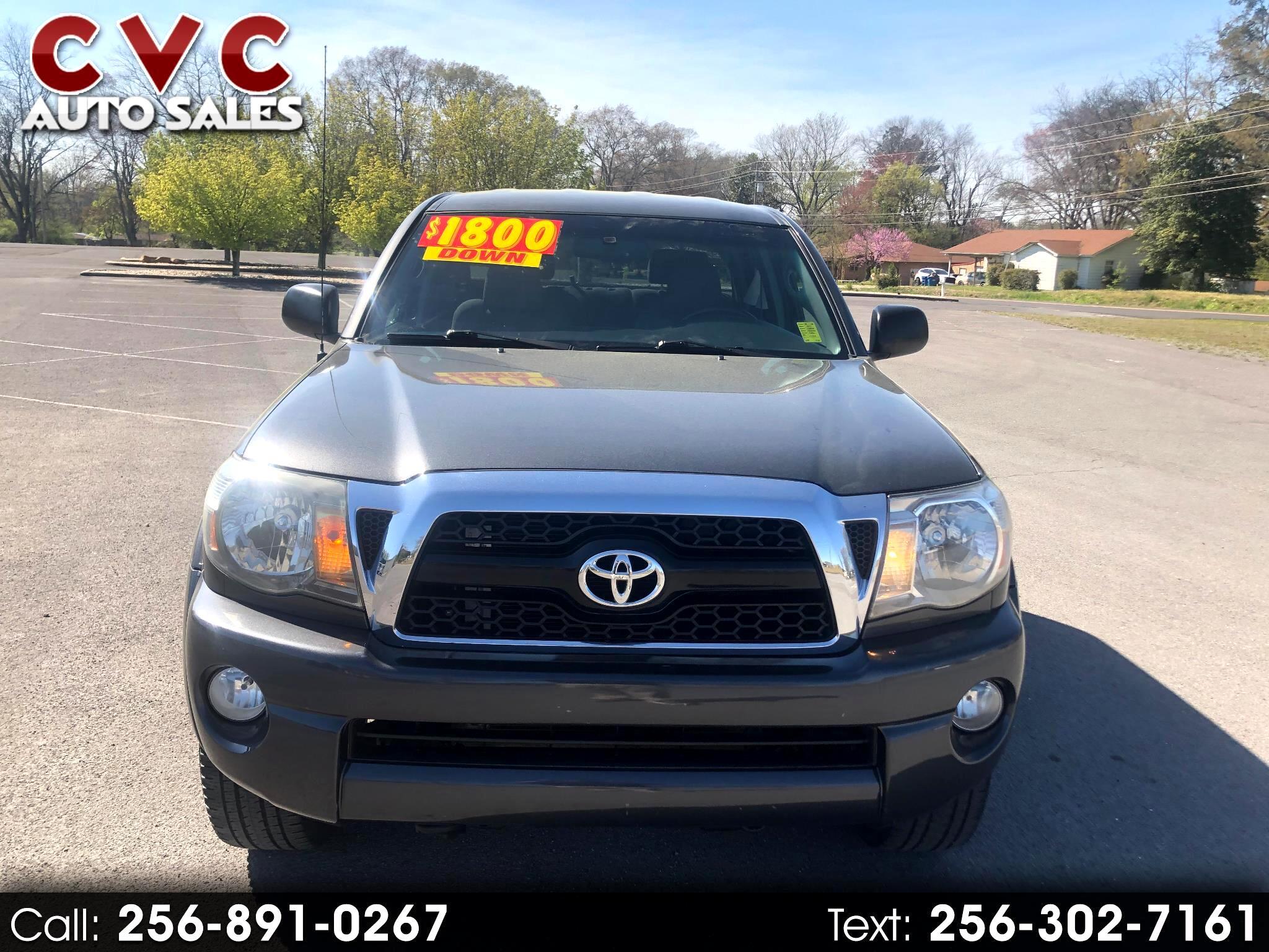 Toyota Tacoma PreRunner Double Cab V6 Auto 2WD 2011
