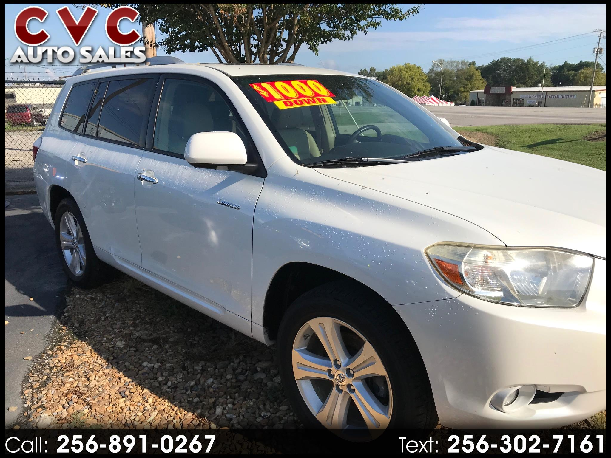 Toyota Highlander Limited 2WD 2008