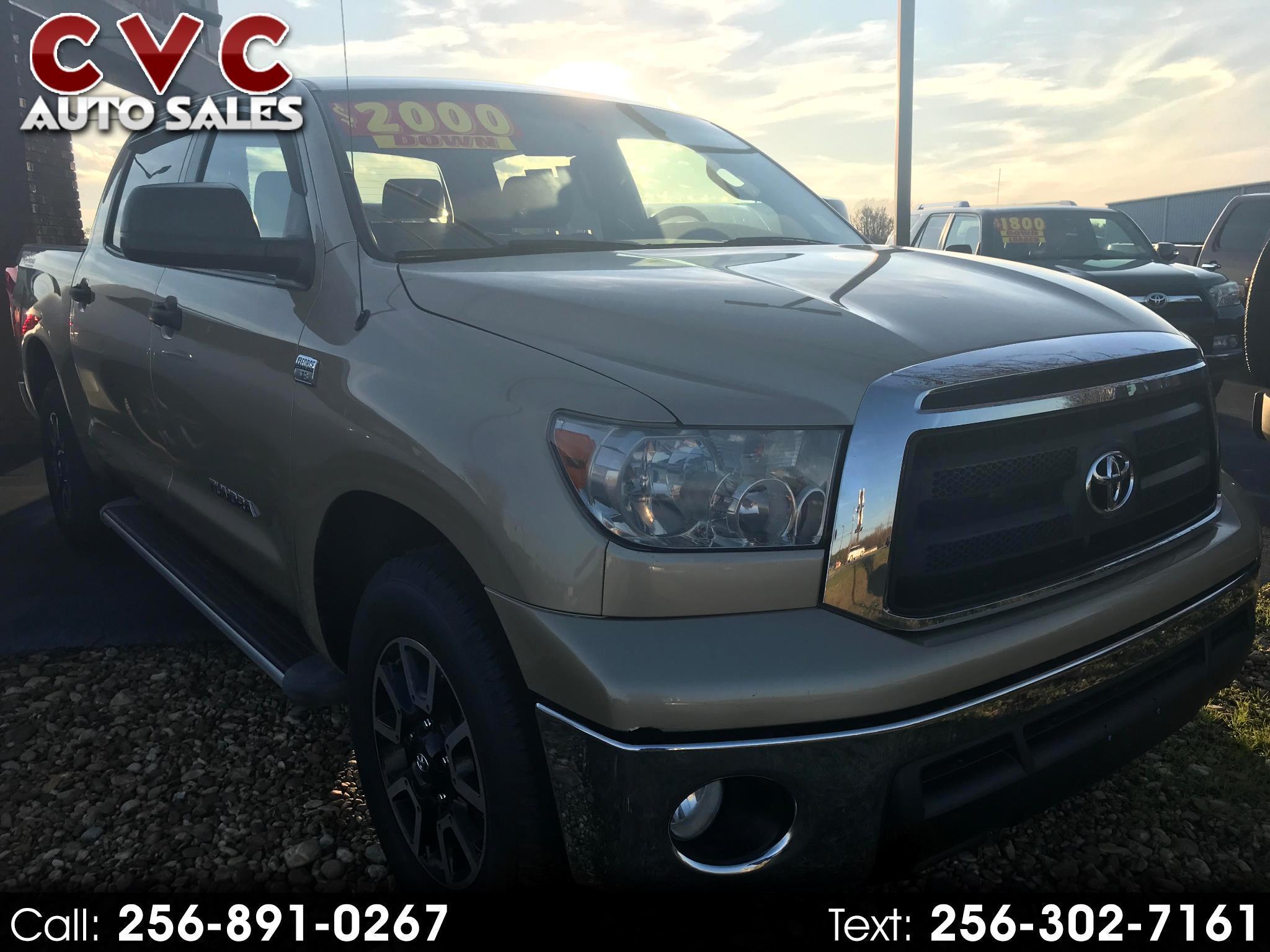 Toyota Tundra Tundra-Grade CrewMax 4.6L 2WD 2010
