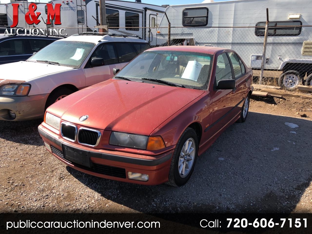 1997 BMW 3 Series 318I 4dr Sdn Manual