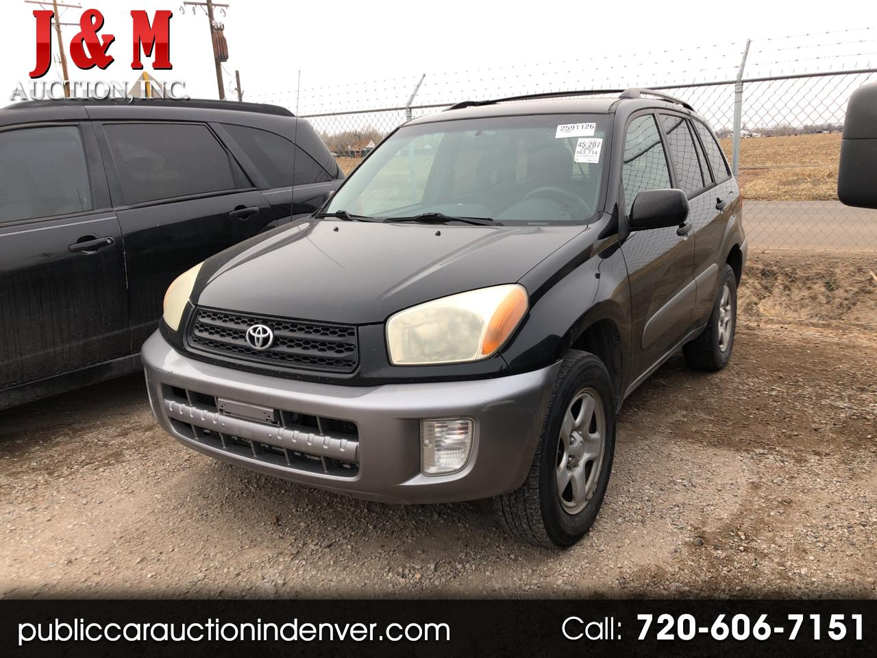 2002 Toyota RAV4 4dr Manual (Natl)