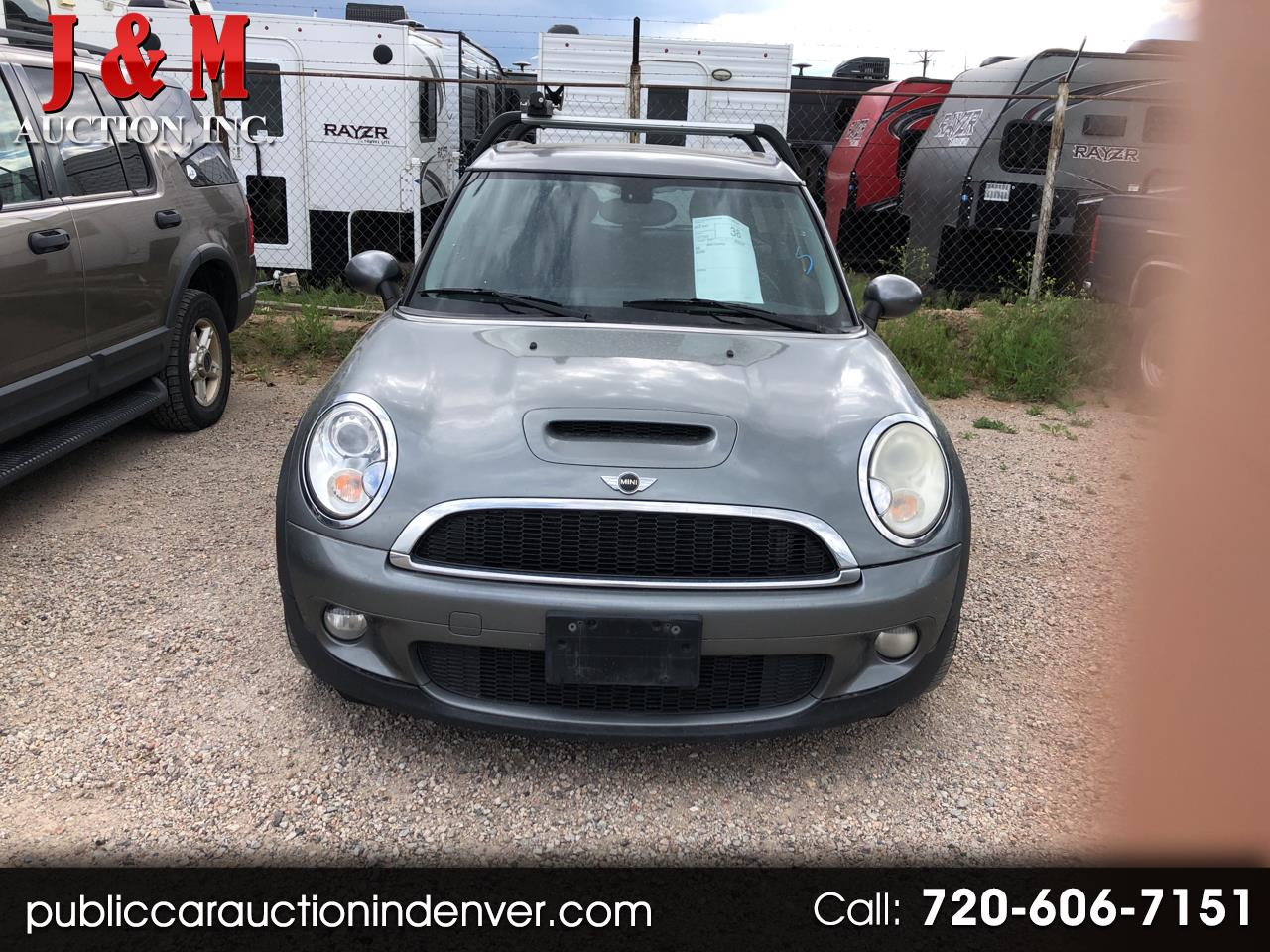 Used 2009 Mini Cooper Clubman 2dr Cpe S For Sale In Denver