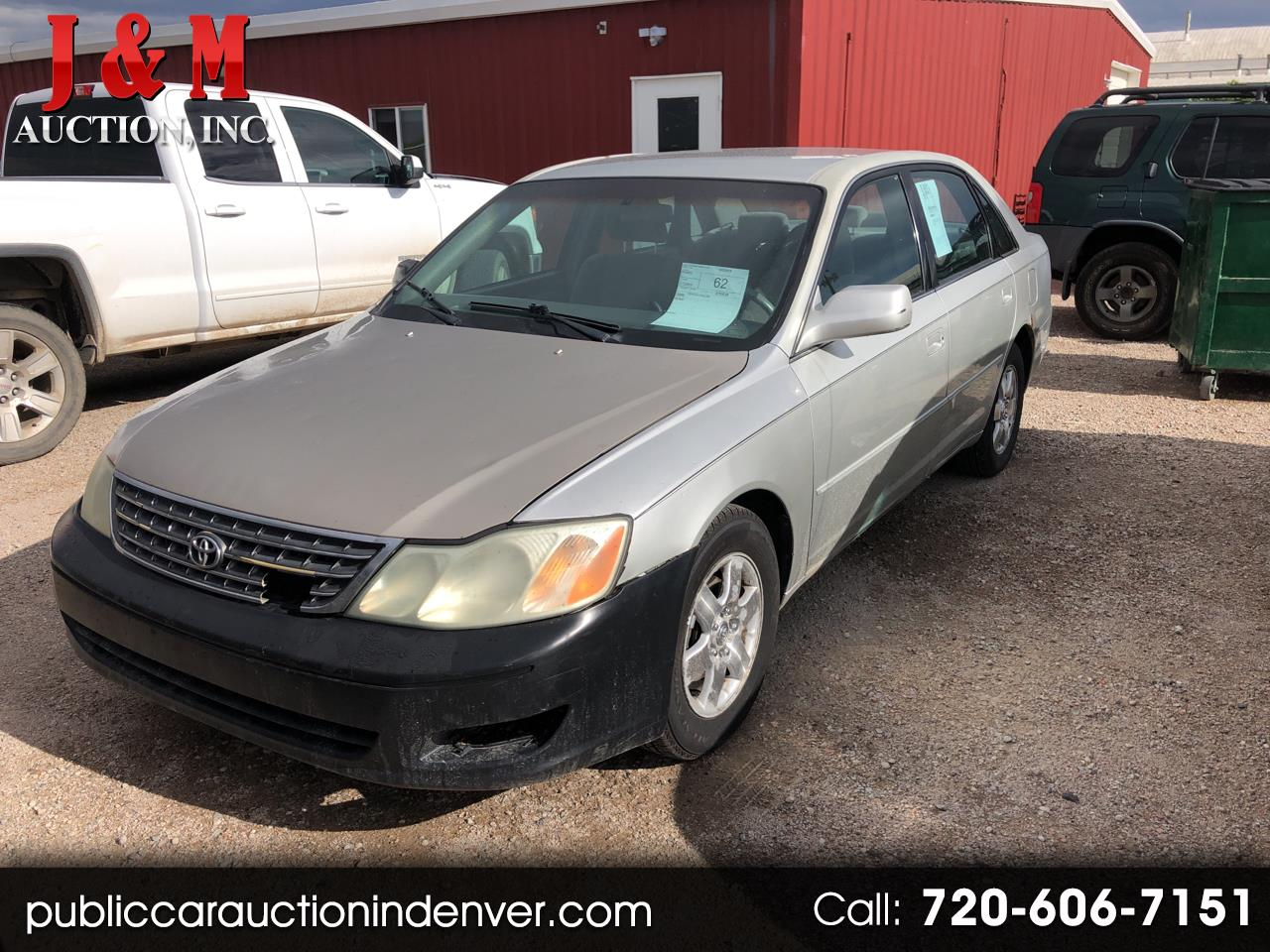 2000 Toyota Avalon 4dr Sdn XLS w/Bench Seat
