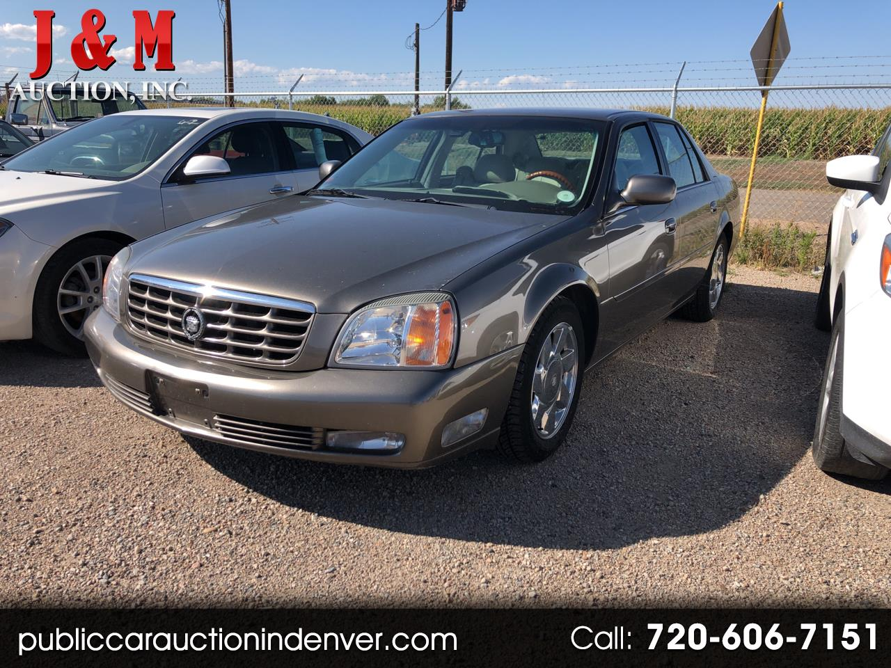 2000 Cadillac DeVille DTS 4dr Sdn