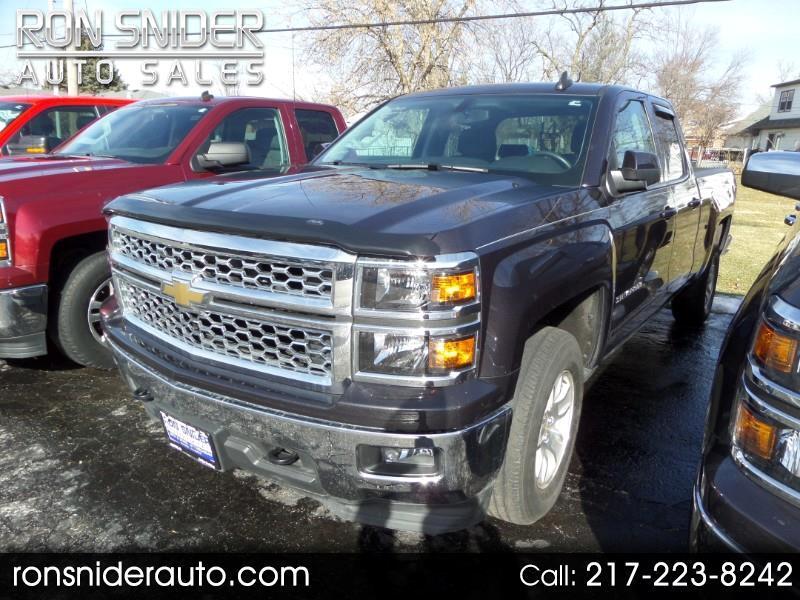 "2015 Chevrolet Silverado 1500 4WD Double Cab 143.5"" LT w/1LT"