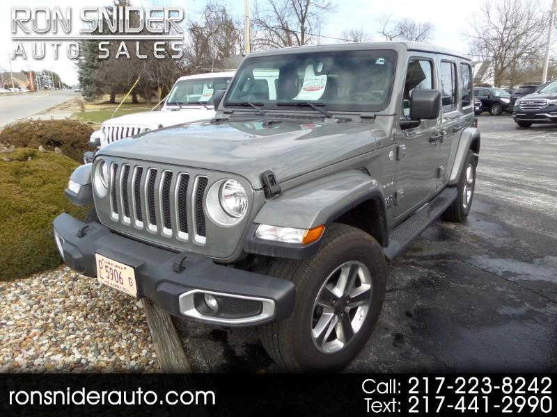 Jeep Wrangler Unlimited Sahara 4x4 2019