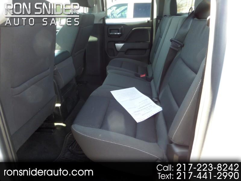 "Chevrolet Silverado 1500 4WD Double Cab 143.5"" LT w/1LT 2018"