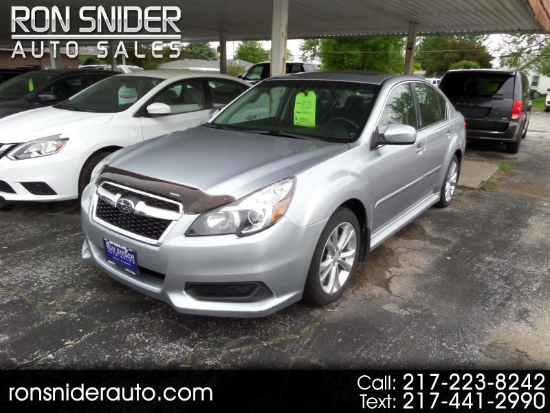 Subaru Legacy 4dr Sdn H4 Auto 2.5i Premium 2013