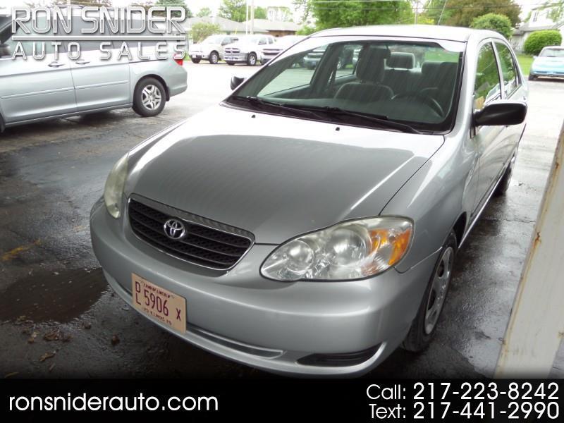 Toyota Corolla 4dr Sdn CE Auto (Natl) 2005