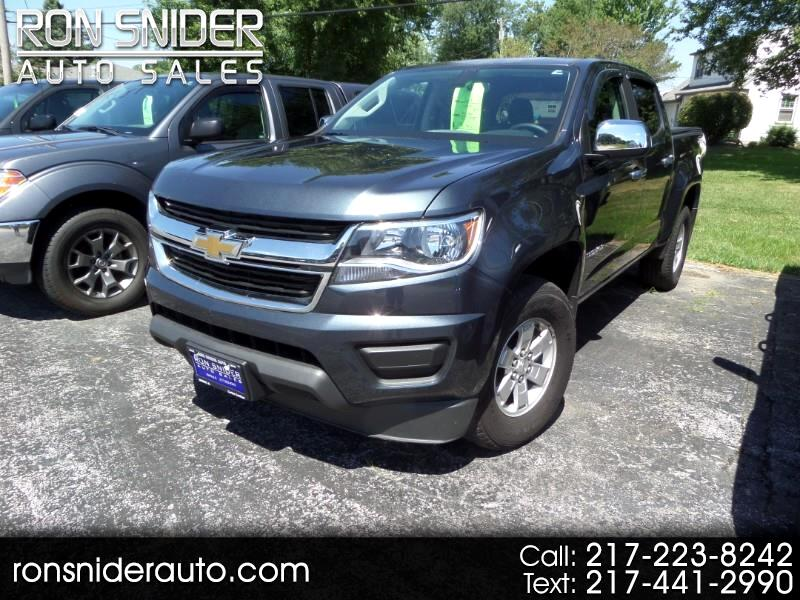 "Chevrolet Colorado 4WD Crew Cab 128.3"" Work Truck 2019"